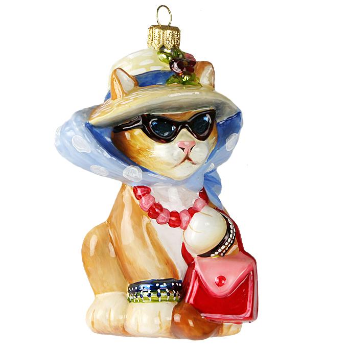 Елочная игрушка «Кошка в шляпе» Mostowski & Komozja ...